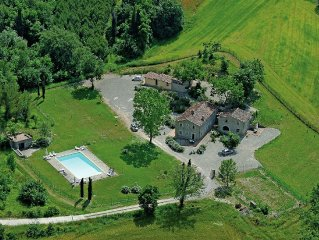 Beautiful manor with swimming pool