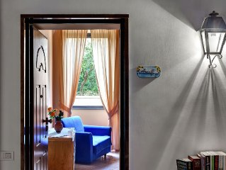 A nice apartment with fantastic high ceilings,for 2-3 people, measuring 20 m2