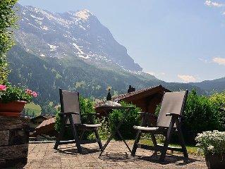 Apartment Truffersbrunnengassli 1  in Grindelwald, Bernese Oberland - 2 persons