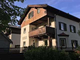 Villa within walking distance of the ski-lift and the centre of Kitzbuhel.