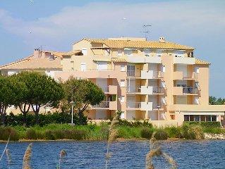 Apartment Les Rives du Lac  in Port Camargue, Gard - Lozere - 4 persons, 2 bedr
