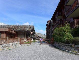 Apartment Ecrin des Neiges  in Tignes, Savoie - Haute Savoie - 8 persons, 3 bed