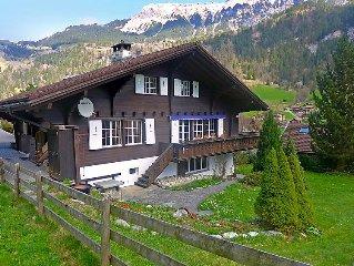 Vacation home Chalet am Scharm  in Lauterbrunnen, Bernese Oberland - 12 persons