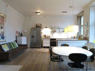 City Apartment in Kopenhagen mit 2 Schlafzimmern 5 Schlafplatzen