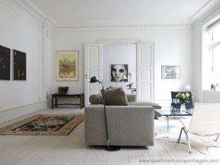 City Apartment in Copenhagen with 2 bedrooms sleeps 4