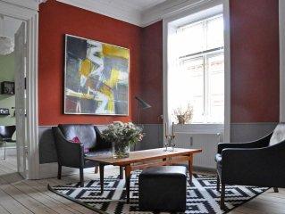 City Apartment in Frederiksberg Kommune mit 2 Schlafzimmern 4 Schlafplatzen