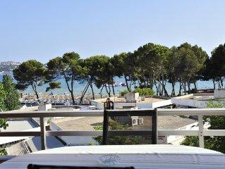 Sehr schöne Ferienwohnung auf Mallorca in Paguera mit schöner Terrasse, für 6 Pe
