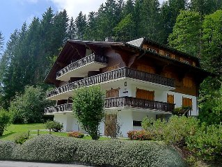 Ferienwohnung Vermont 10  in Villars, Waadtlander Alpen - 7 Personen, 3 Schlafzi