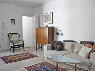 City Apartment in Kopenhagen mit 2 Schlafzimmern 3 Schlafplatzen