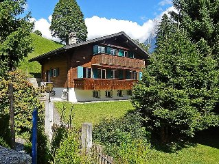 Apartment Chalet Bienli  in Grindelwald, Bernese Oberland - 6 persons, 2 bedroo