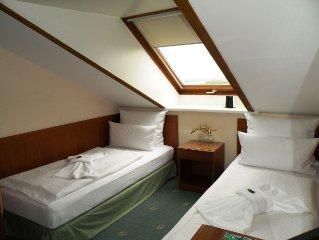 Zweibettzimmer, Seeseite - Haus Meeresblick