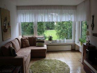 Ferienwohnung, 80qm, 2 Schlafzimmer, 1 Wohn-/Schlafzimmer, max. 4 Personen