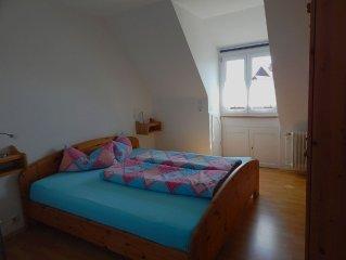 Ferienwohnung, 80qm, 2 Schlafzimmer, max. 4 Personen