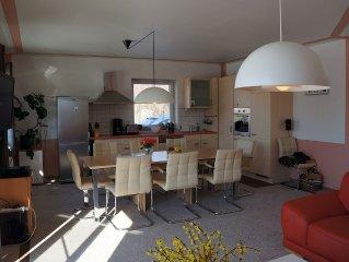 6 Raum Ferienhaus Inseltraum mit 2 Terrassen bis 12 Pers. - Inseltraum mit Ostse