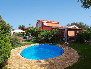 Vacation home Mrvica  in Umag/Cepljani, Istria - 9 persons, 4 bedrooms