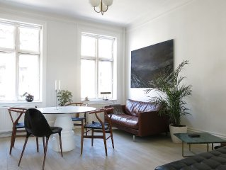 City Apartment in Frederiksberg with 2 bedrooms sleeps 4