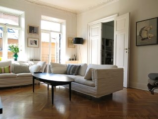 City Apartment in Frederiksberg Kommune mit 4 Schlafzimmern 7 Schlafplätzen