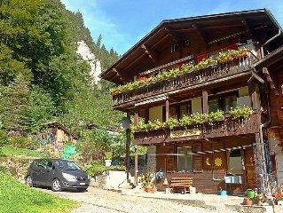 Apartment Staubbachblick  in Lauterbrunnen, Bernese Oberland - 4 persons, 2 bed