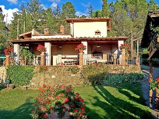 Vacation home Podere Berrettino  in Reggello, Florence Countryside - 6 persons,