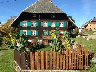 Ferienwohnung Bernau fur 4 - 6 Personen mit 3 Schlafzimmern - Historisches Gebau