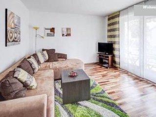 Ferienwohnung Augsburg für 3 - 4 Personen mit 2 Schlafzimmern - Ferienwohnung