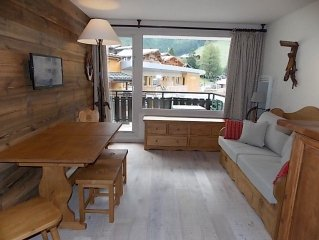 Chalet atmosphere in this nice studio for 4 people in the center