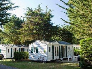Camping Grande Métairie ***** - Mobilhome 6 personnes - 6 places  (entre 0 et 5