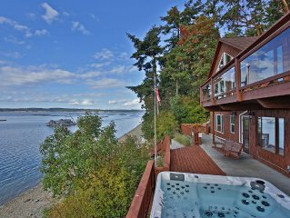 Waterfront Coupeville home with beautiful Penn Cove view (243)