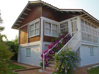 Beautiful detached house on Portosin beach
