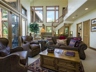 RATES RECENTLY REDUCED - Luxury townhome with valley views, right near the heat