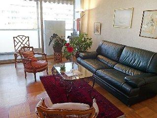 Apartment Route de Florissant  in Geneva, Lake Geneva Region - 4 persons, 1 bed