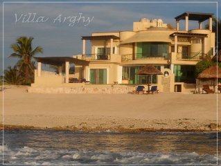 25% off Thanksgiving, Christmas, or New Years  for 7 nights on Ocean Front Villa