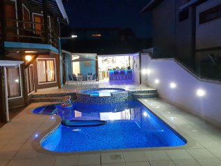 Paradisiaca mansion Ilhabela 5 bedrooms for 15 people