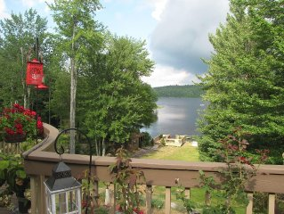 Elegant Lake Front Property with attention to comfort nestled in the Catskills.