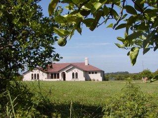 Custom Home - 11 Acre Orange Grove near Golf/Tennis Resort in Howey In The Hills