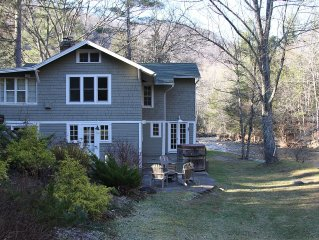 Charming 1909 Home Nestled In The Woodland Valley Beside A Beautiful Stream
