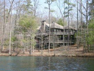 Lux 6300 sq/ft Big Canoe Lake House w/ Otdr Ktchn & Huge Decks, Views Lake/Mtns