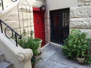 Charming Brownstone Garden Apartment
