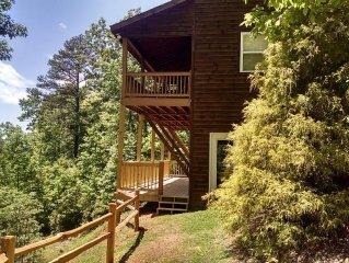 North GA Mountain Cabin, Sleeps 6---Most beautiful view on the mountain!