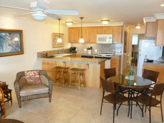 DIRECT OCEAN FRONT ! LUXURY 1 BR 1 BA Condo, pool, tennis, WIFI