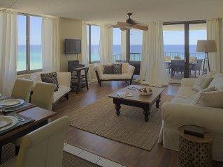 Gulf Front Luxury Condo at Watercrest Resort! Views, Views, Views!