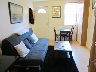 Downtown, Fell's Point, Johns Hopkins area, Restored Rowhome, Sleeps 6!