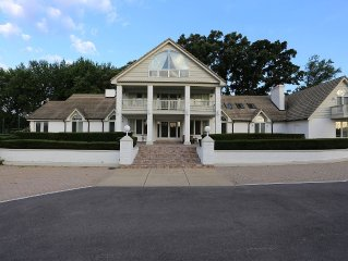 Country Mansion - Huge Lot With Indoor Pool/hot Tub