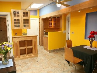 Renovated One Bedroom, w/Parking, Heated Pool, in East End Gallery District