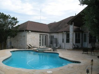 Austin Hill Country Chateau - Private Luxury Suite w/ Pool. 12 min to Downtown