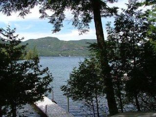Waterfront retreat in Indian Bay, Lake George