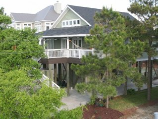 Handicapped Accessible, Pet Friendly Folly Beach Home - Ocean View & Elevator!