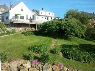 Historic Oceanfront Maine Village Year-Round Retreat, Gameroom + Water Access