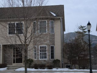 Beautiful, Modern Lake George Rental Just Steps from Million Dollar Beach