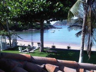 Beira do mar -ampla casa familiar - Praia da Ferradura